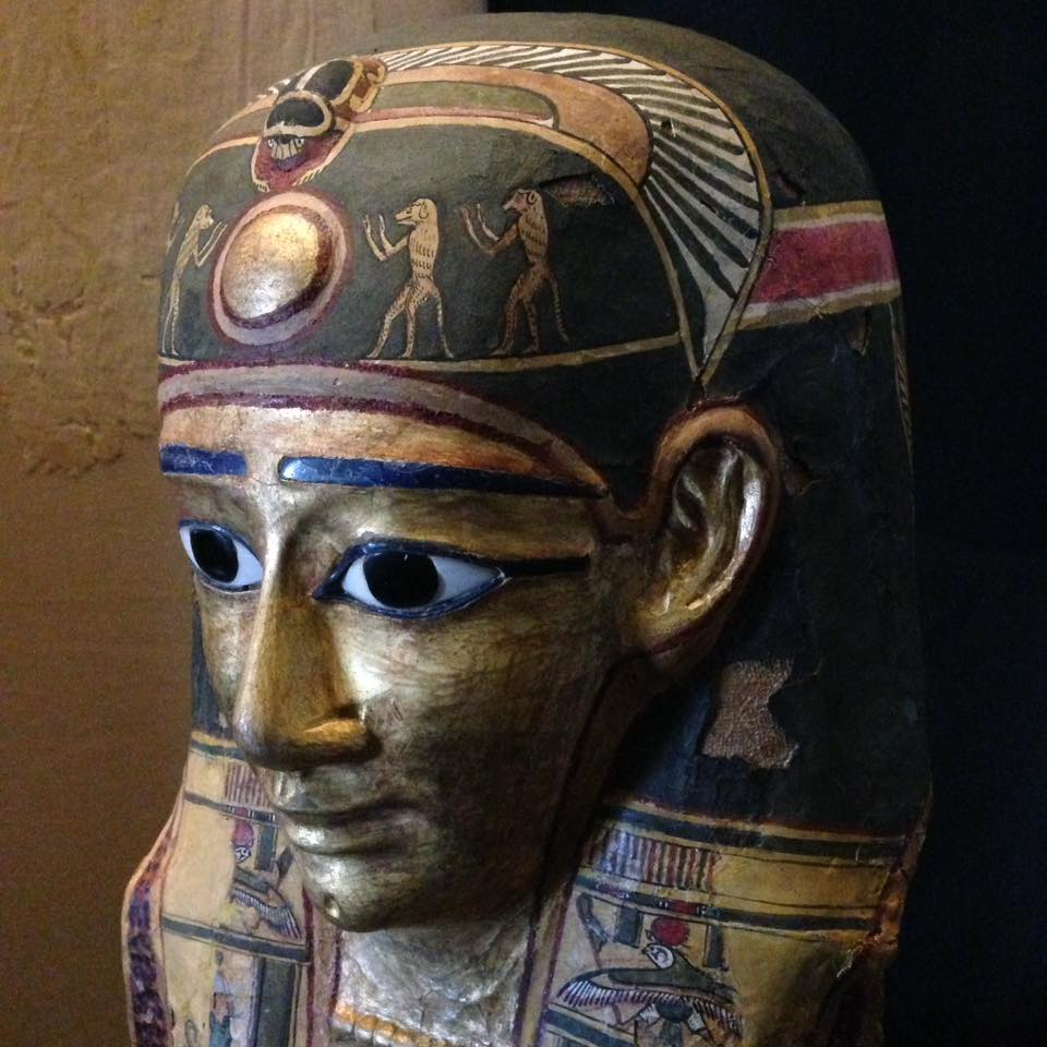 Burial Mask, Egyptian Museum, Vatican