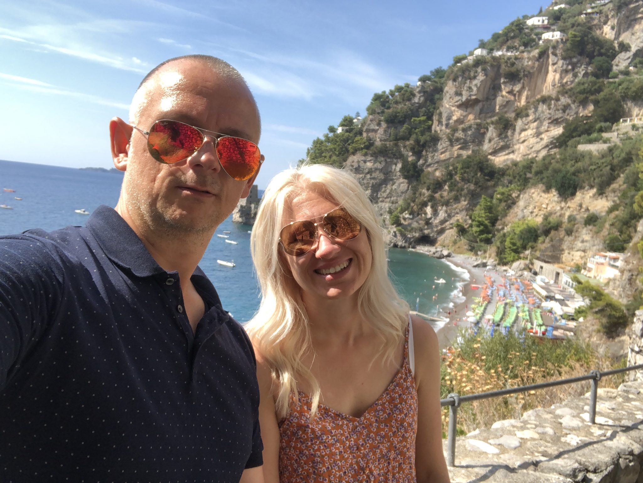 Just Us Two in Sorrento, Italy