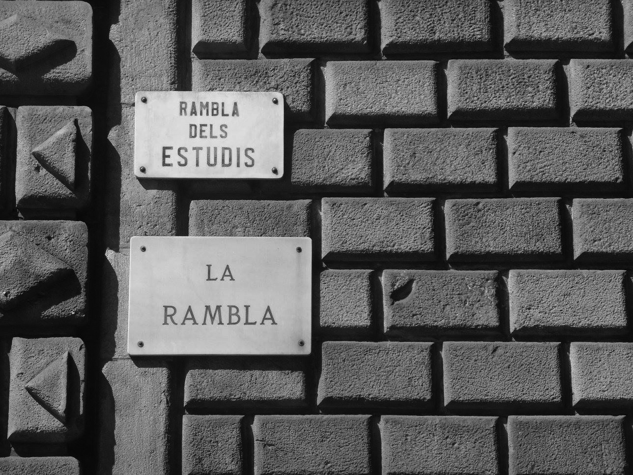 The picturesque La Rambla. A great place to start a photographic tour.