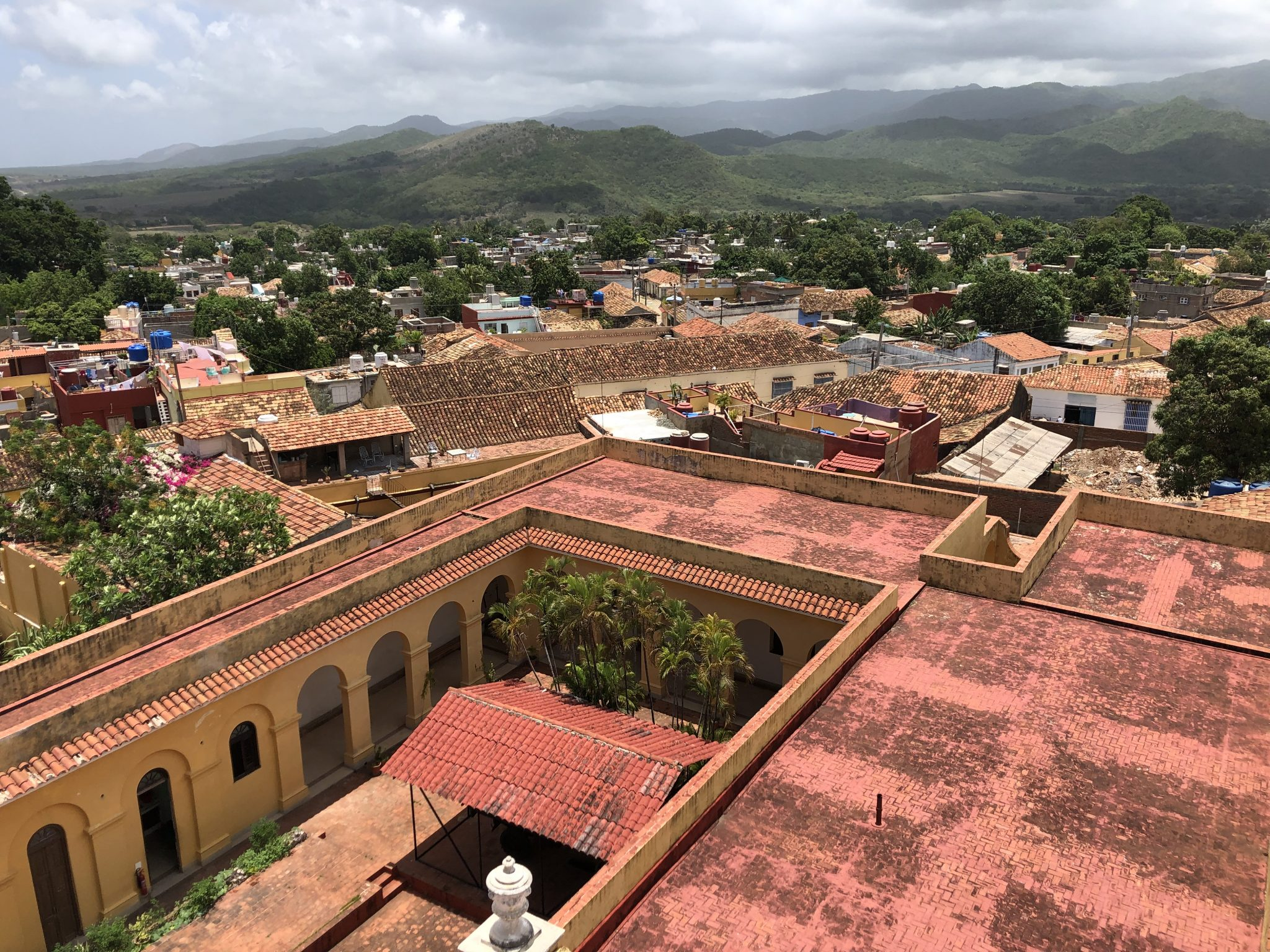 View from the Bandit Museum tower, Trinidad.
